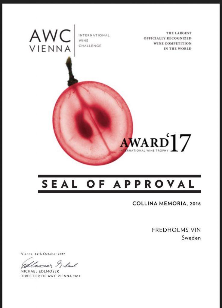 Diplom AWC Vienna